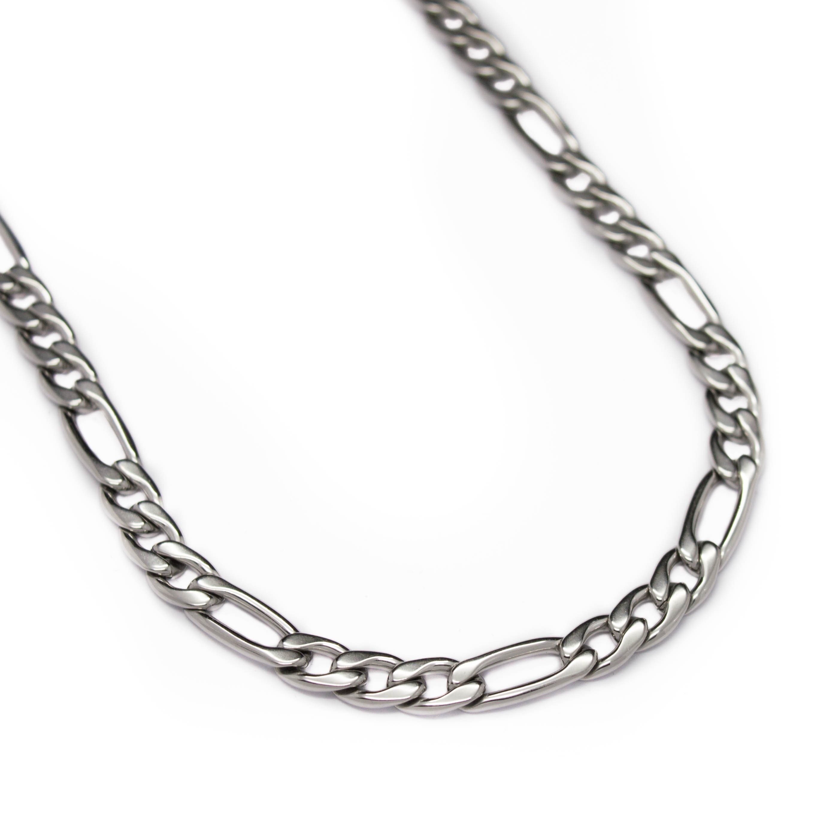 Bracelet maille figaro homme