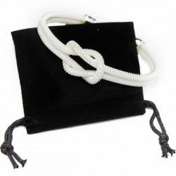 Bracelet Jonc Noeud Argent pour femme fashion