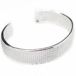 Bracelet Jonc en argent pour femme, très simple et très classe