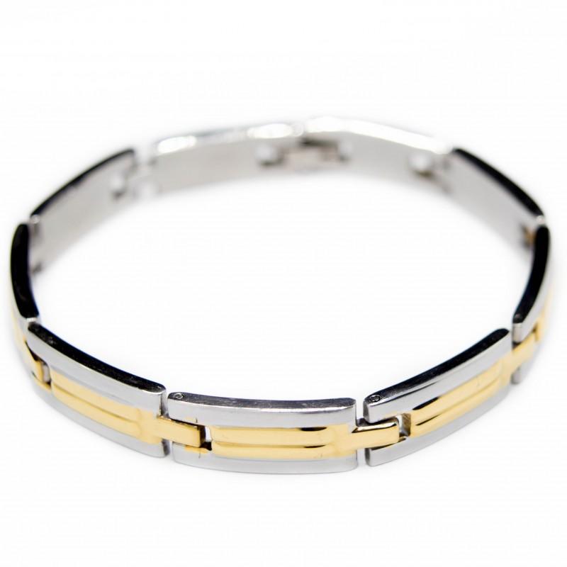 Men's classic steel bracelet
