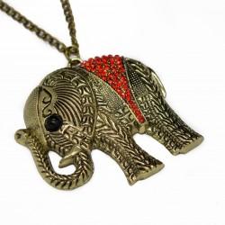 Sautoir collier représentant un éléphant un bijou pour femme