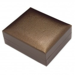 Brown necklace box for jewellery, affordable