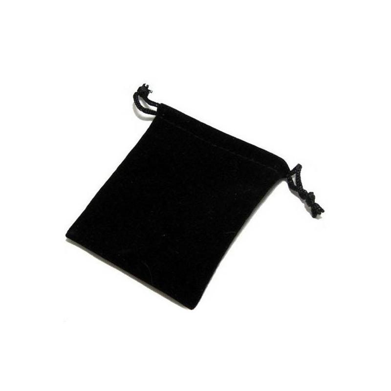 Ecrin de velours noir pour ranger vos bijoux
